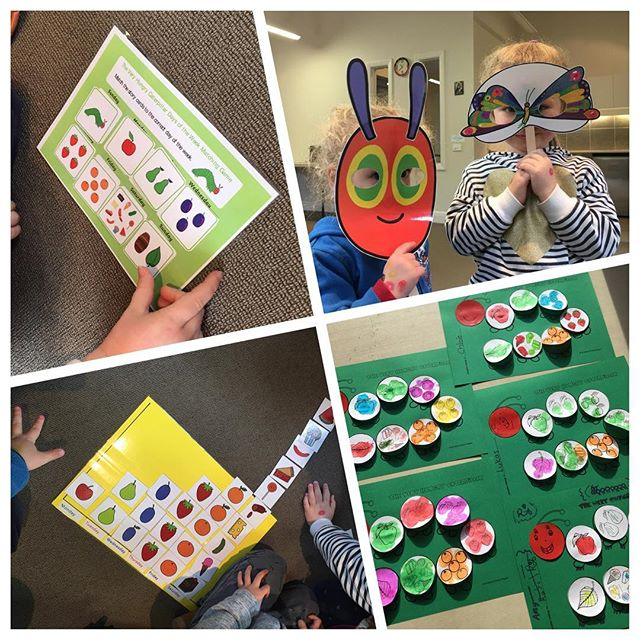 It's #veryhungrycaterpillar week at Busy Bookworms! Masks, graphs, crafts, games...this book is so perfect for learning!!