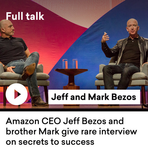 Sessions Shorts Jeff Bezos How To Lead A Life You Can Be Proud