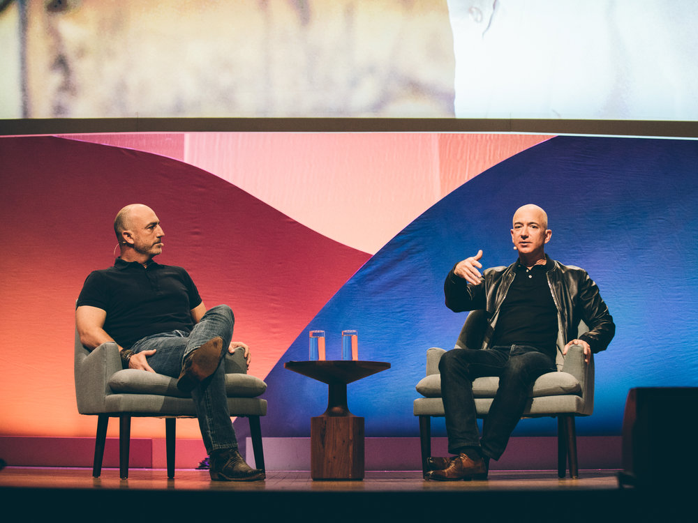 Summit Session: Jeff and Mark Bezos