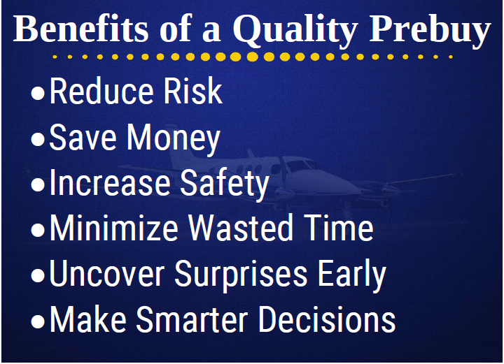 Everything you need to know about airplane prebuys and aircraft pre-purchase inspections.