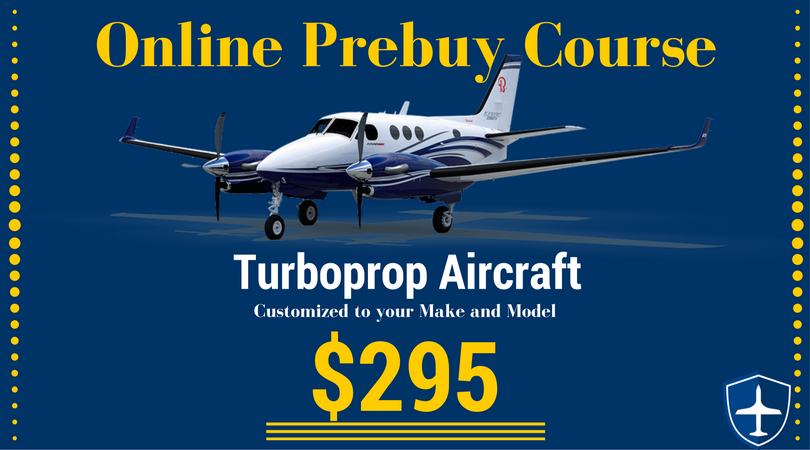 How to do a airplane prebuy inspection on a turboprop