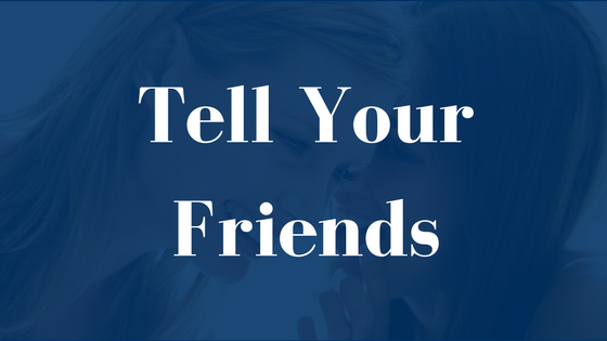 Copy of Tell your friends