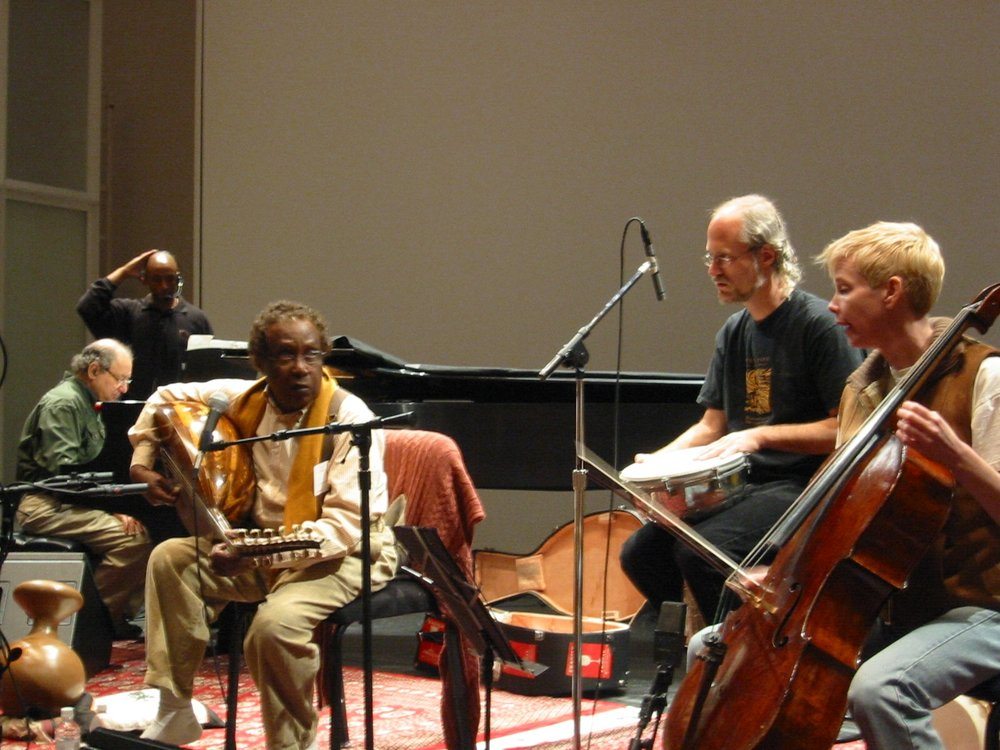Rehearsal w/Hamza el Din at the Getty Center (May 2003)