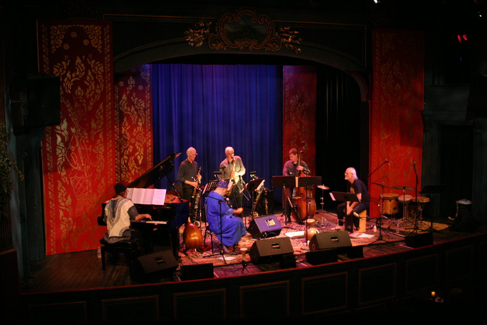 Afro-Weston Band at the 142 Throckmorton Theatre in Mill Valley, CA (Photo by Paul Miller)