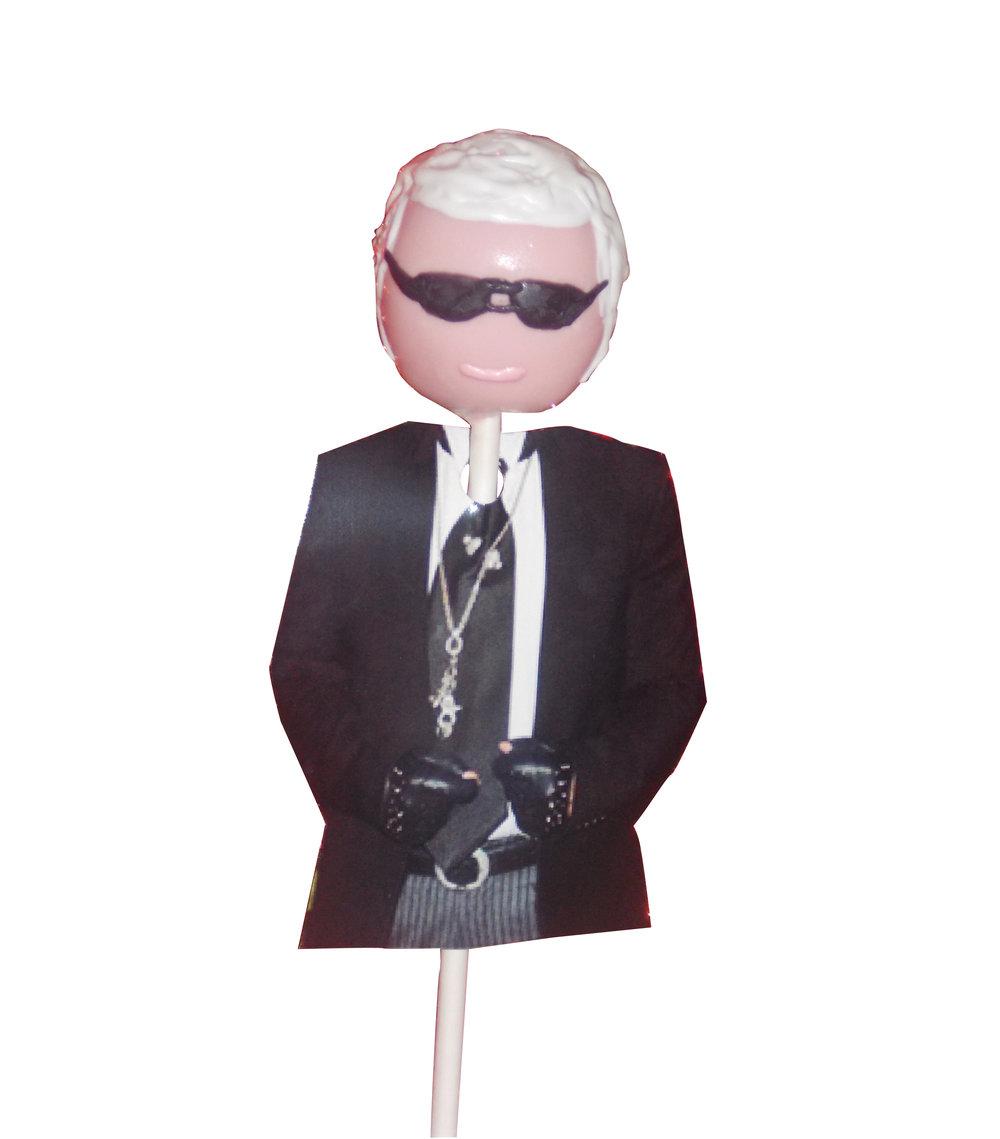 Karl Lagerfeld Cake pop