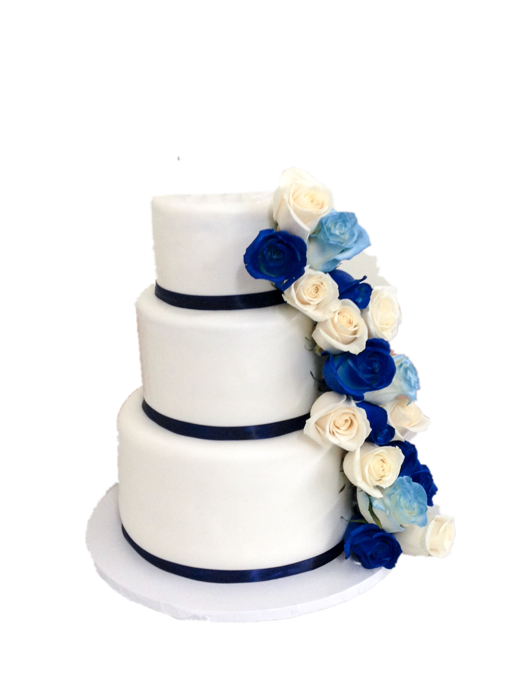 Three Tiered floral cake