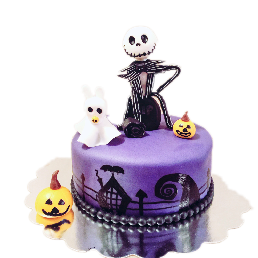 Jake Skellington Cake