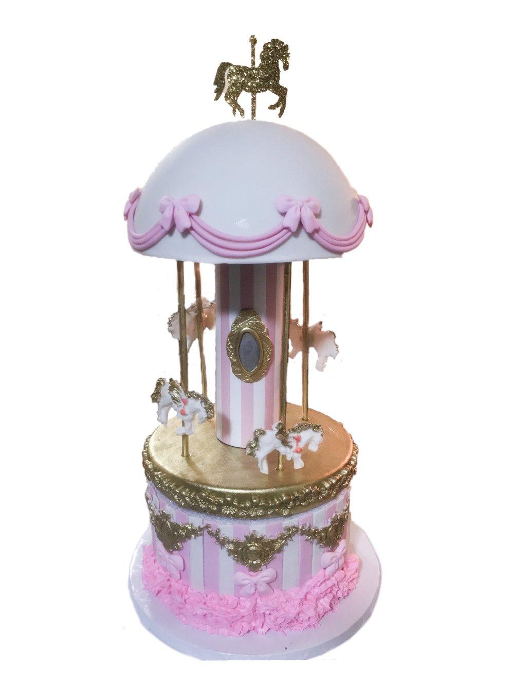 3D Carousel Cake