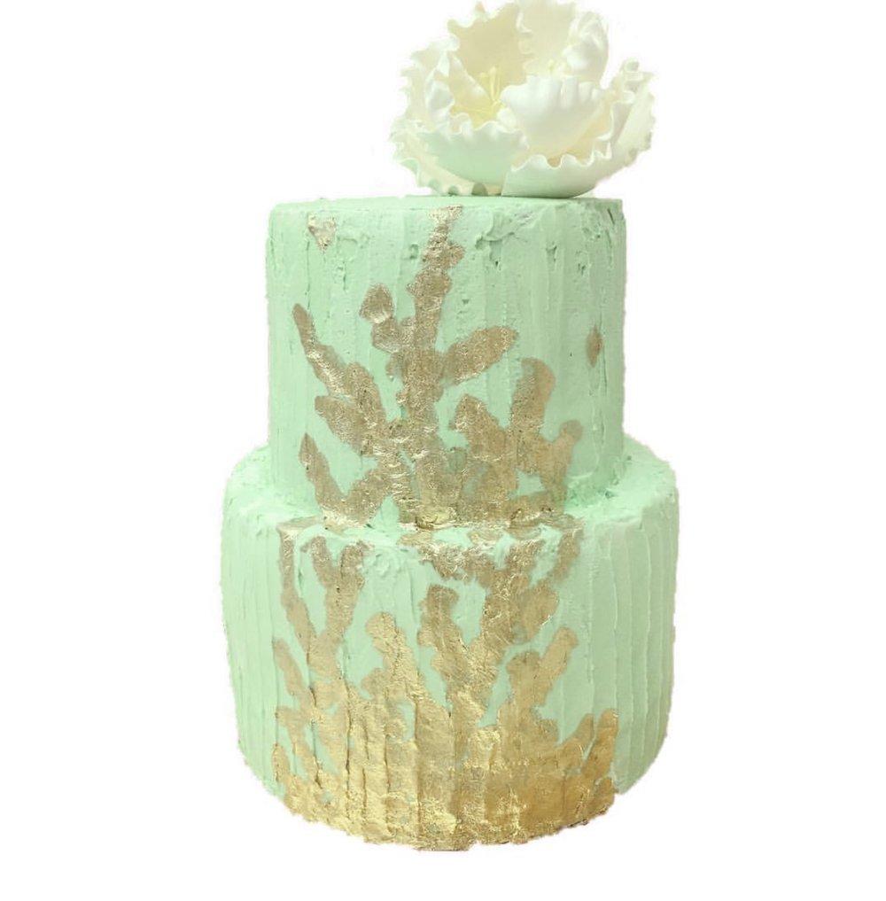 Pretty Custom Cake
