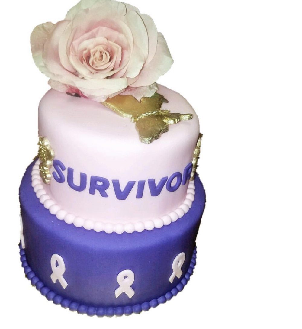 Breast Cancer Survivor Cake