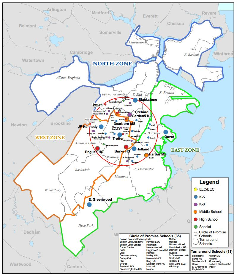 Gear Up Strategic Initiatives Massachusetts Department: The Boston Education Collaborative's Partnership With