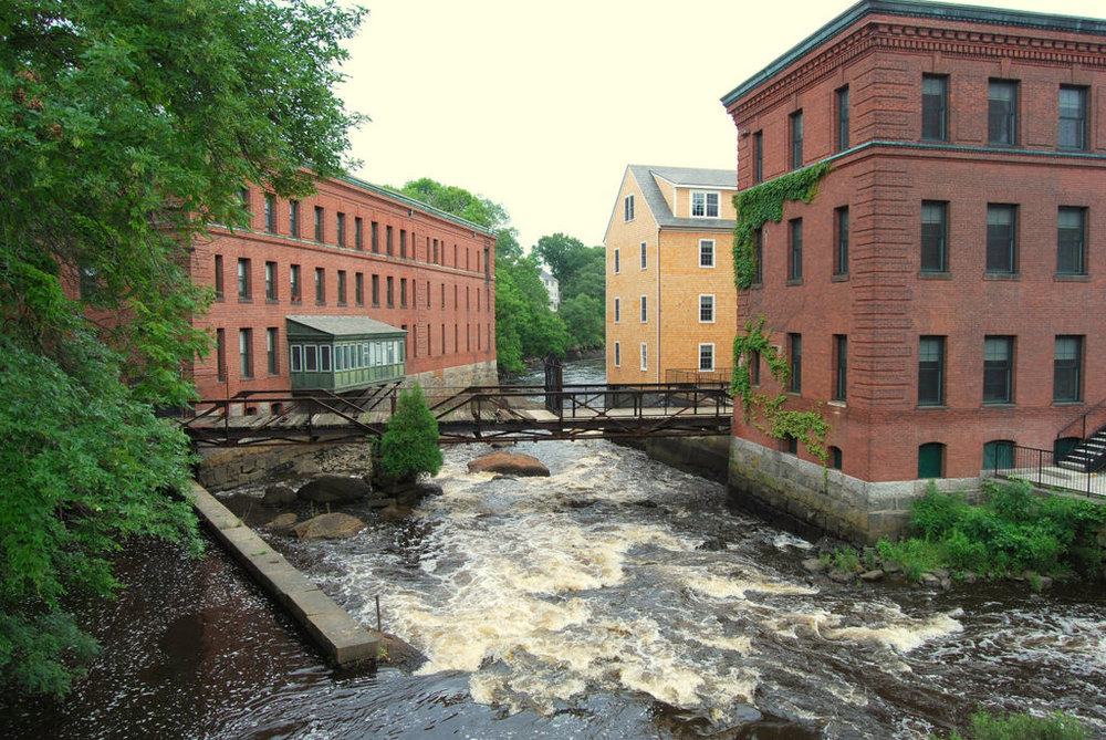 Baker Chocolate Factory, Dorchester, MA. Photo by Mark N. Belanger, 2009.