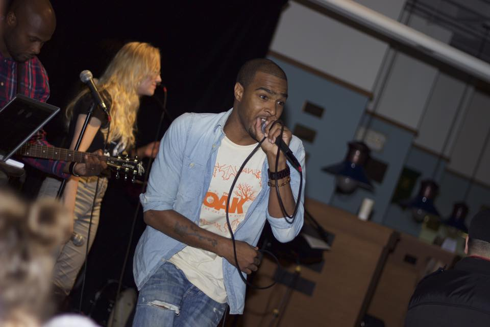 Caleb McCoy, hip-hop artist and producer for  OAK music group , was born and raised in Dorchester, MA. Caleb is also the development manager at EGC in the South End.