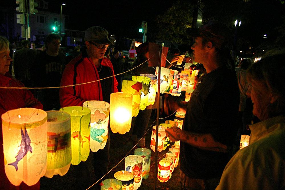 Lantern Festival, Jamaica Pond, Jamaica Plain, MA.