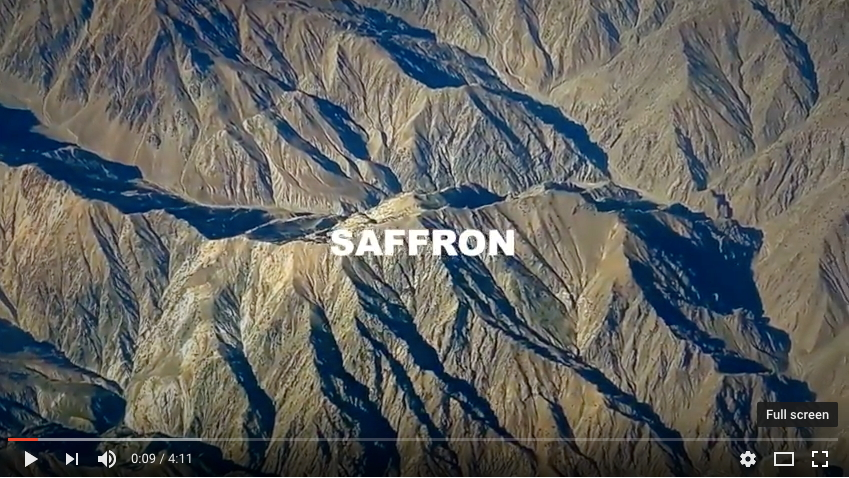 Saffron , by EGC Films, 2017.