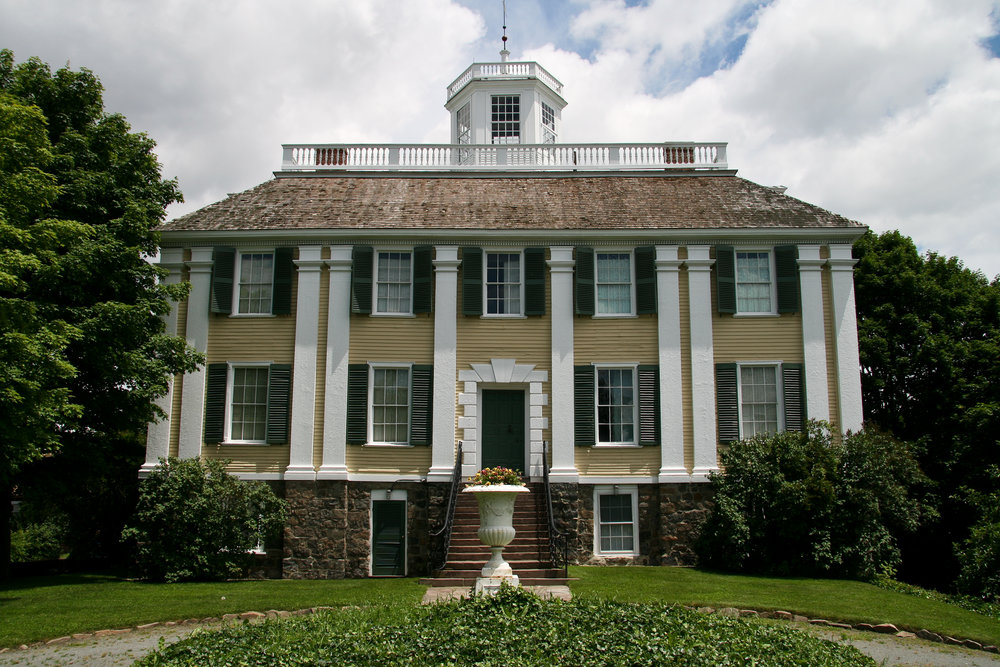 The Shirley–Eustis House  is a National Historic Landmark, built in Roxbury as a summer residence between 1747 and 1751.