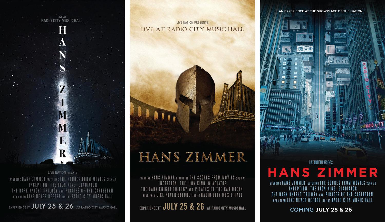 Hans Zimmer Live — Brian Chin Designs