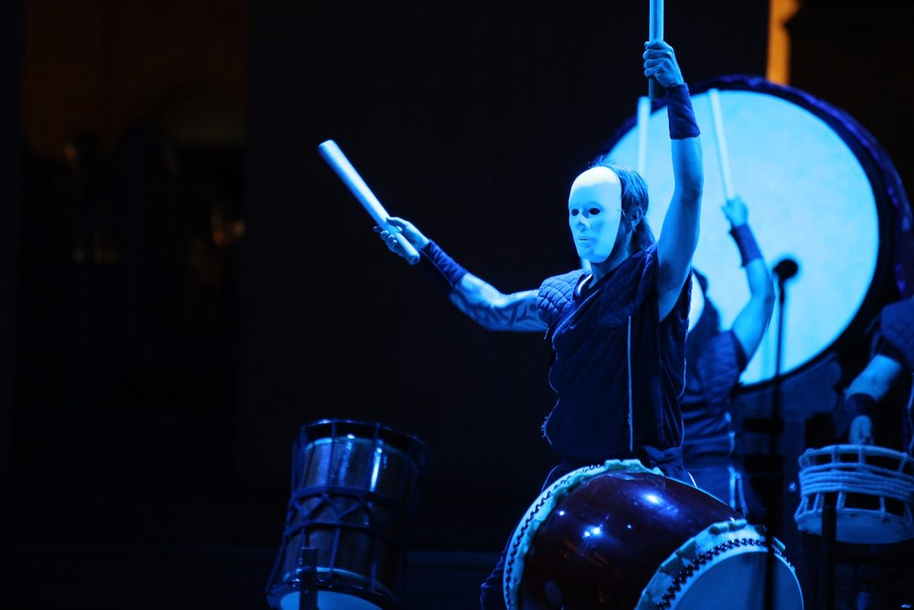 Mugenkyo Taiko Drummers photo by Stephen Buhagiar459.jpg