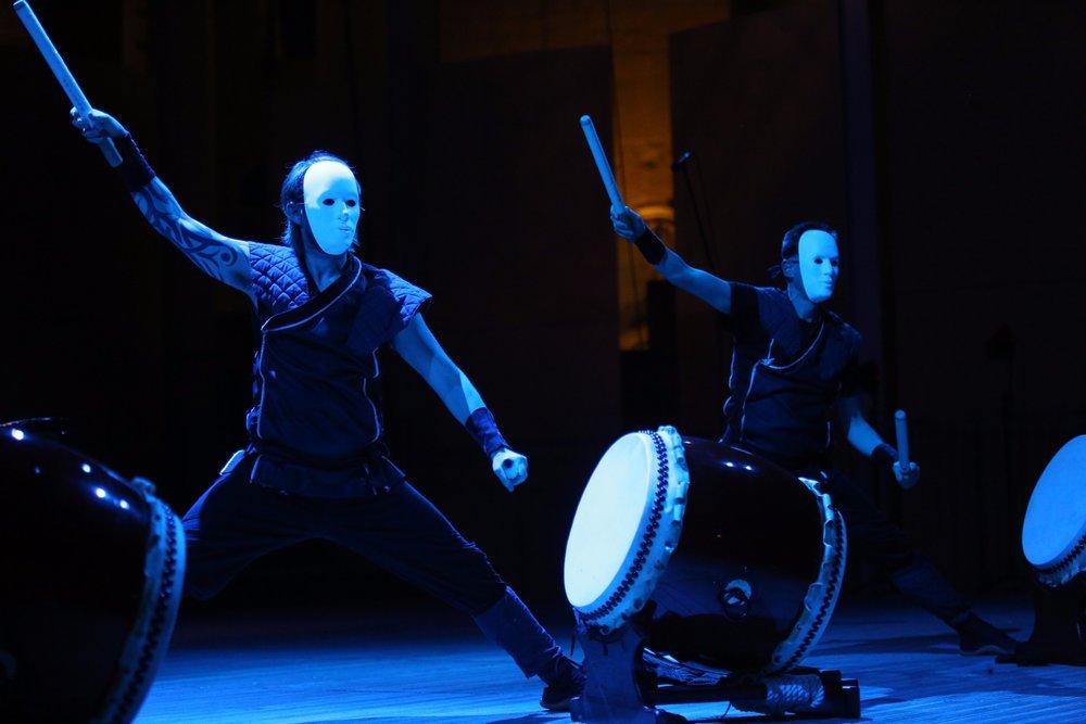 Mugenkyo Taiko Drummers photo by Stephen Buhagiar466.jpg