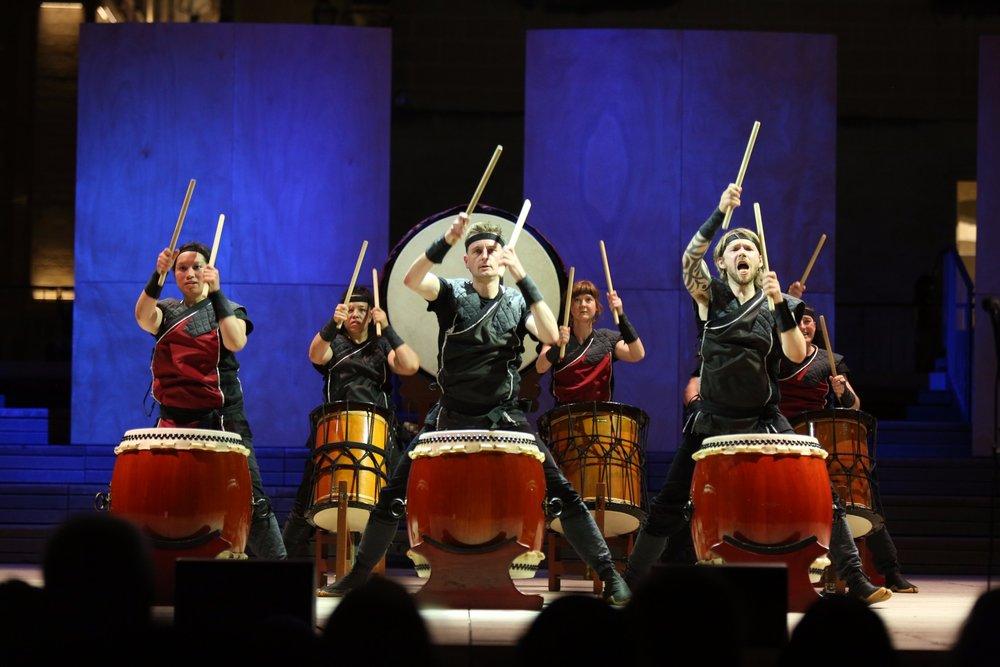Mugenkyo Taiko Drummers photo by Stephen Buhagiar574.jpg