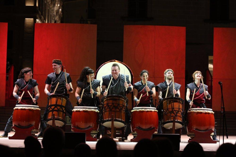 Mugenkyo Taiko Drummers photo by Stephen Buhagiar690.jpg
