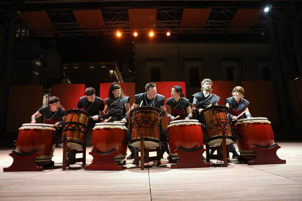 Mugenkyo Taiko Drummers photo by Stephen Buhagiar707.JPG