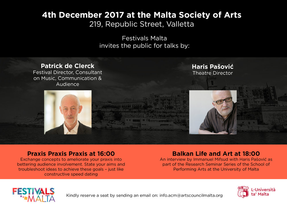 Festivals Malta Talks