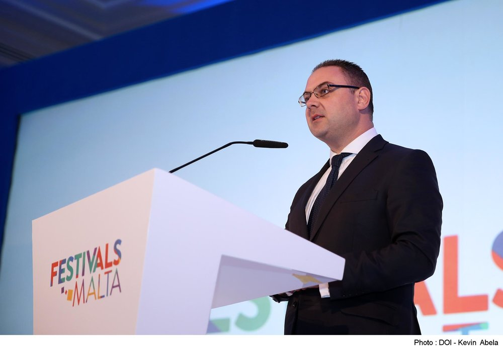 Hon. Owen Bonnici at the Festivals Malta