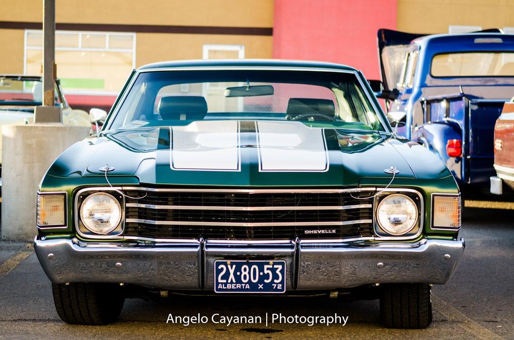 Green '70s Chevelle SS