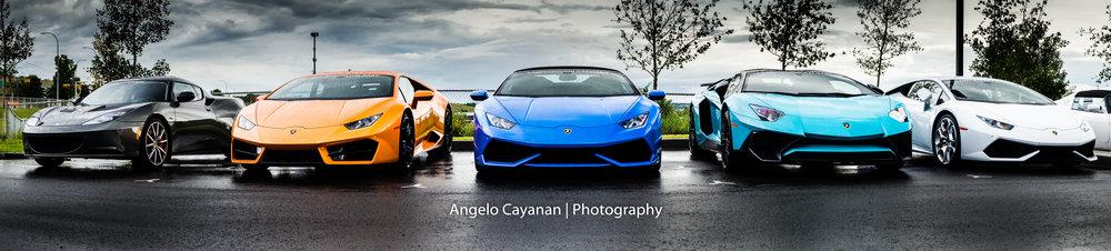 Lamborghini Calgary's lineup