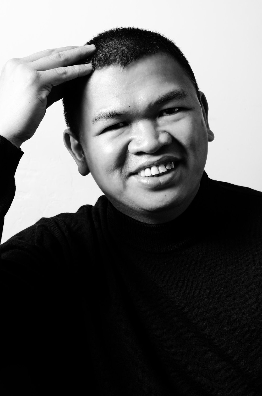 Eric Gamban - B&W Portrait