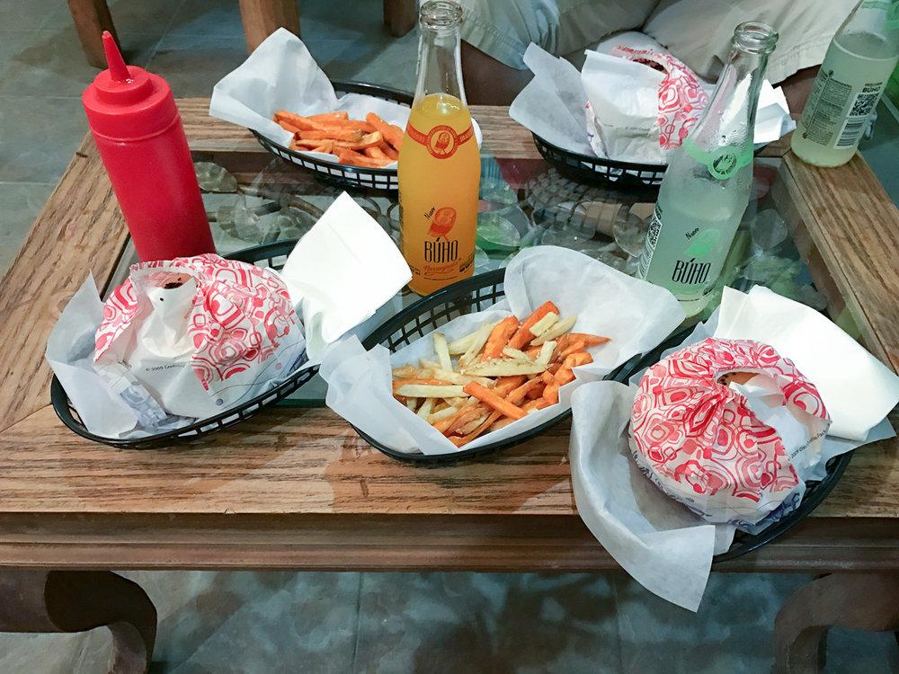 Vegan-Burgers-at-Marvin's-Burgers-in-Playa-del-Carmen