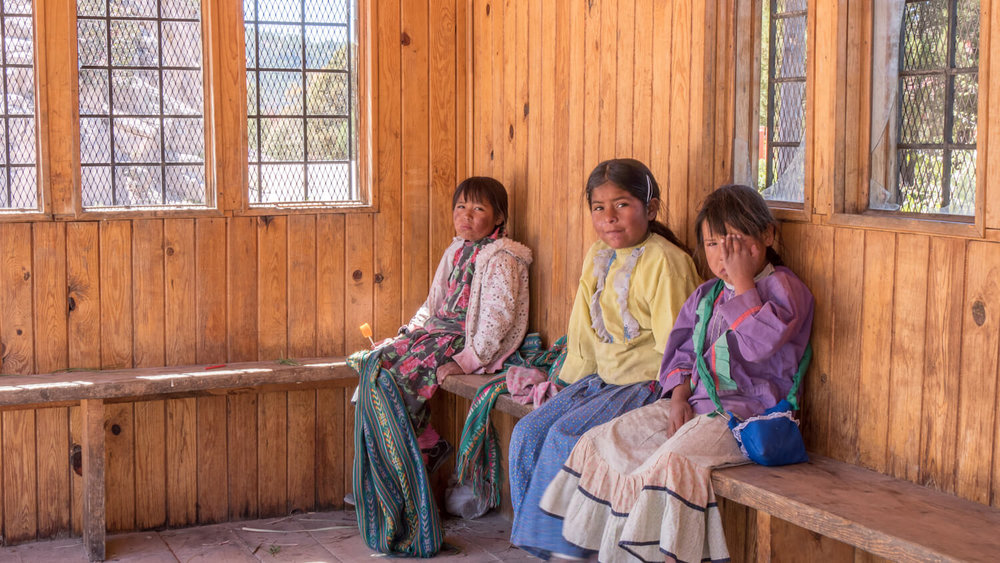 Tarahumara Girls