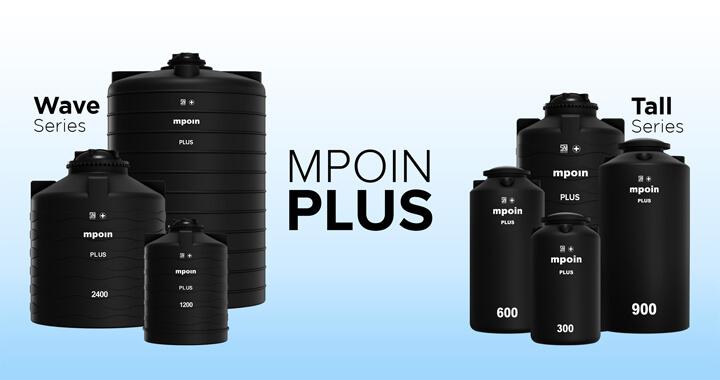 Tandon Air MPOIN PLUS - Produk Toren Tangki Air Anti Lumut, Anti Pecah, Anti Bakteri Terbaik