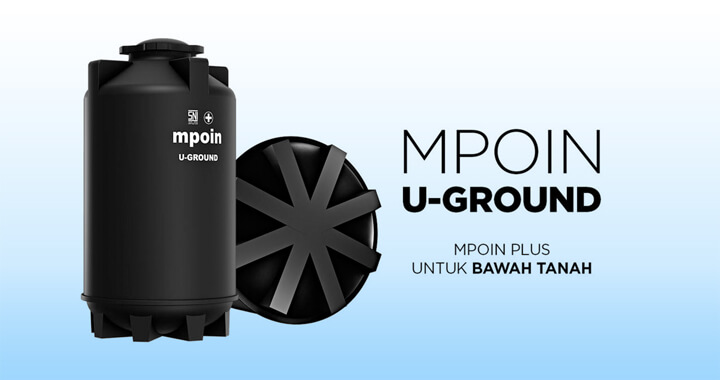 Tandon Air MPOIN STACK - Produk Toren Air Tanam Tangki Air Anti Lumut, Anti Pecah, Anti Bakteri