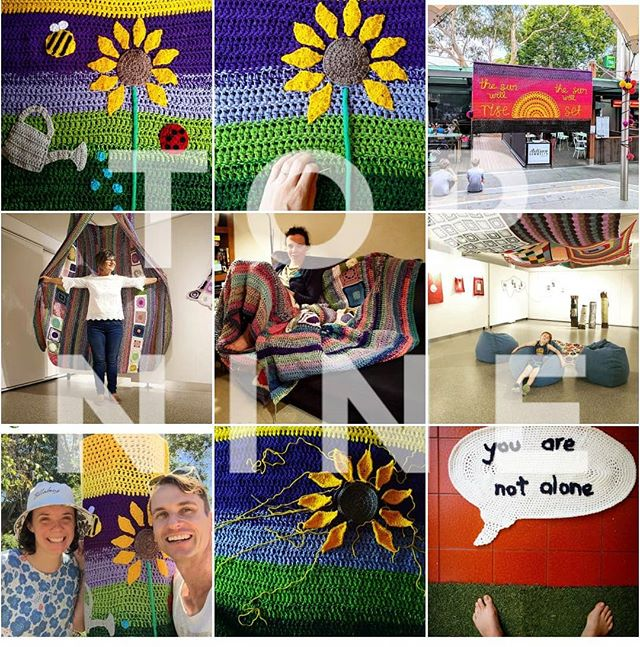 What. A. Year. Still on a crafting detox to recover from it. Thanks for all the love, should have a new #yarnbomb next year. 💜