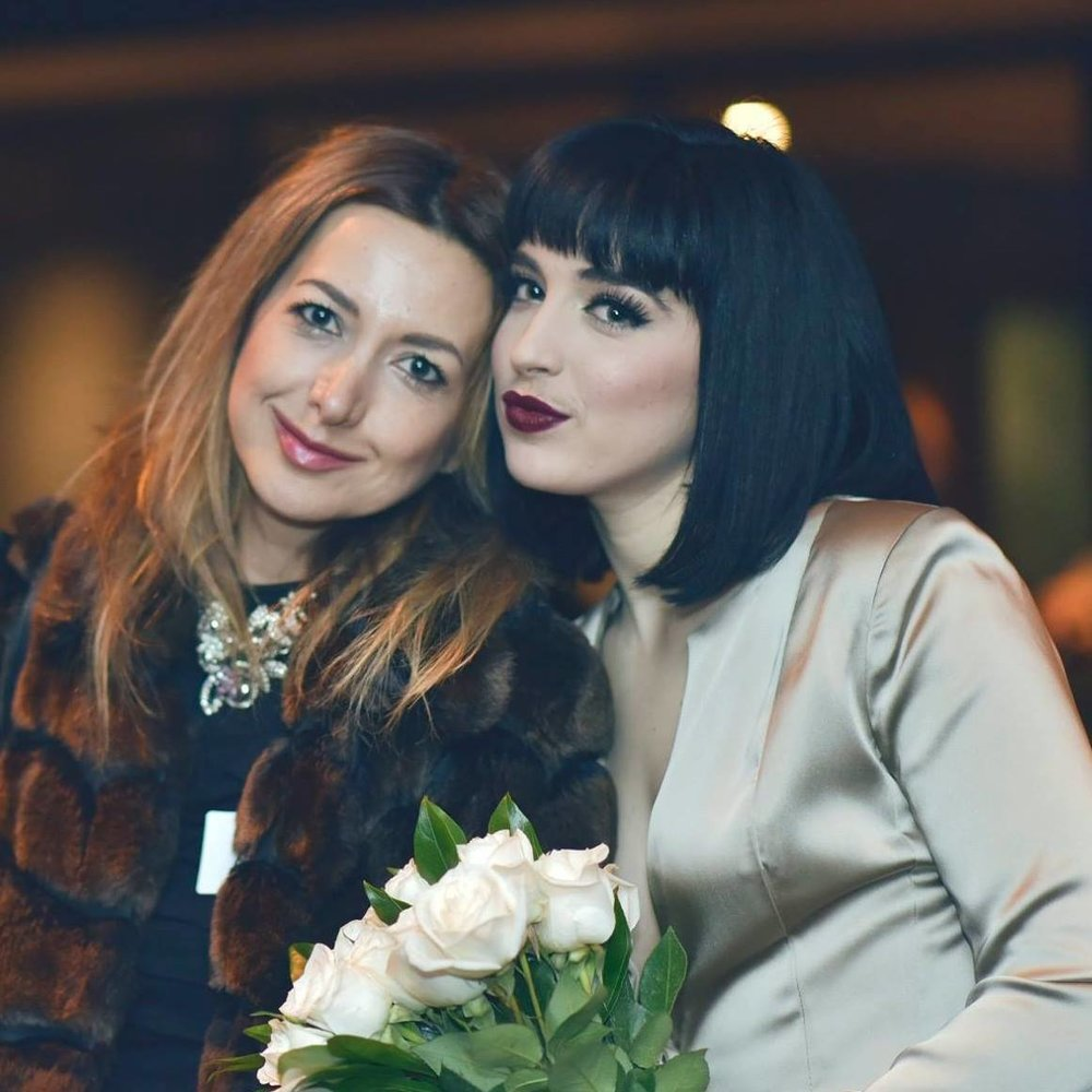 Pictured: Co-founder Ava J Holmes and Creative Director Nazy Alvarez. PC: Fashion Lab