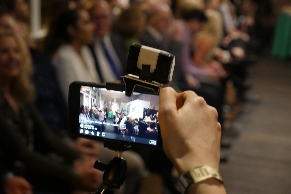 Over a dozen guests live stream the event. Yuliya Suleymanova put particular attention and efforts into ensuring her followers and fans at SULEY GROUP saw the show through her lense.