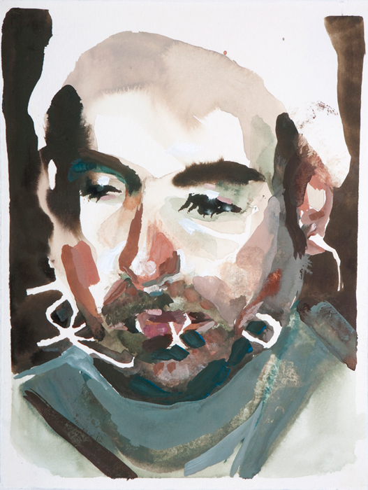gouache on paper, 6x4 inches  2009