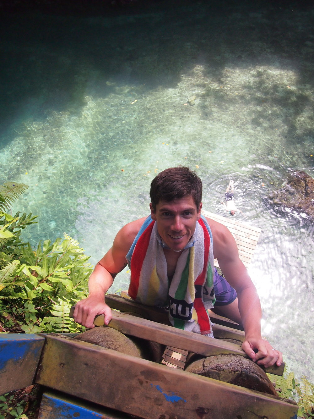 Writer Mike Hall descends into To Sua Trench, Samoa