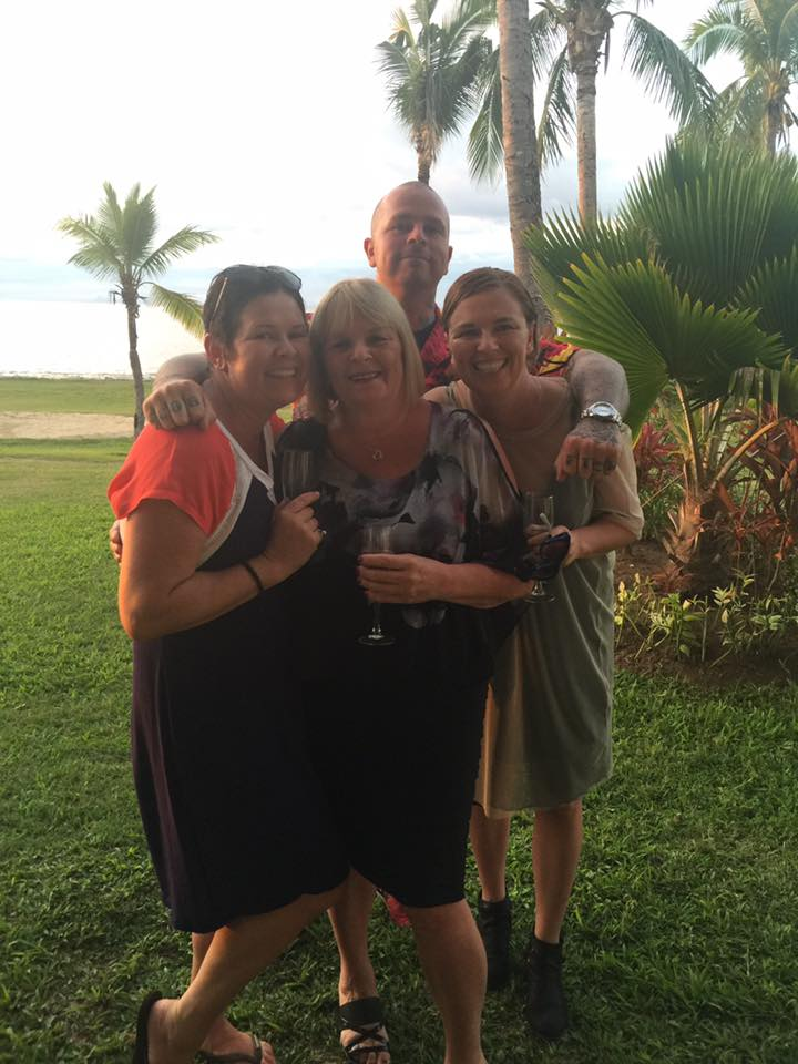 Family time at Hilton Denarau, Fiji