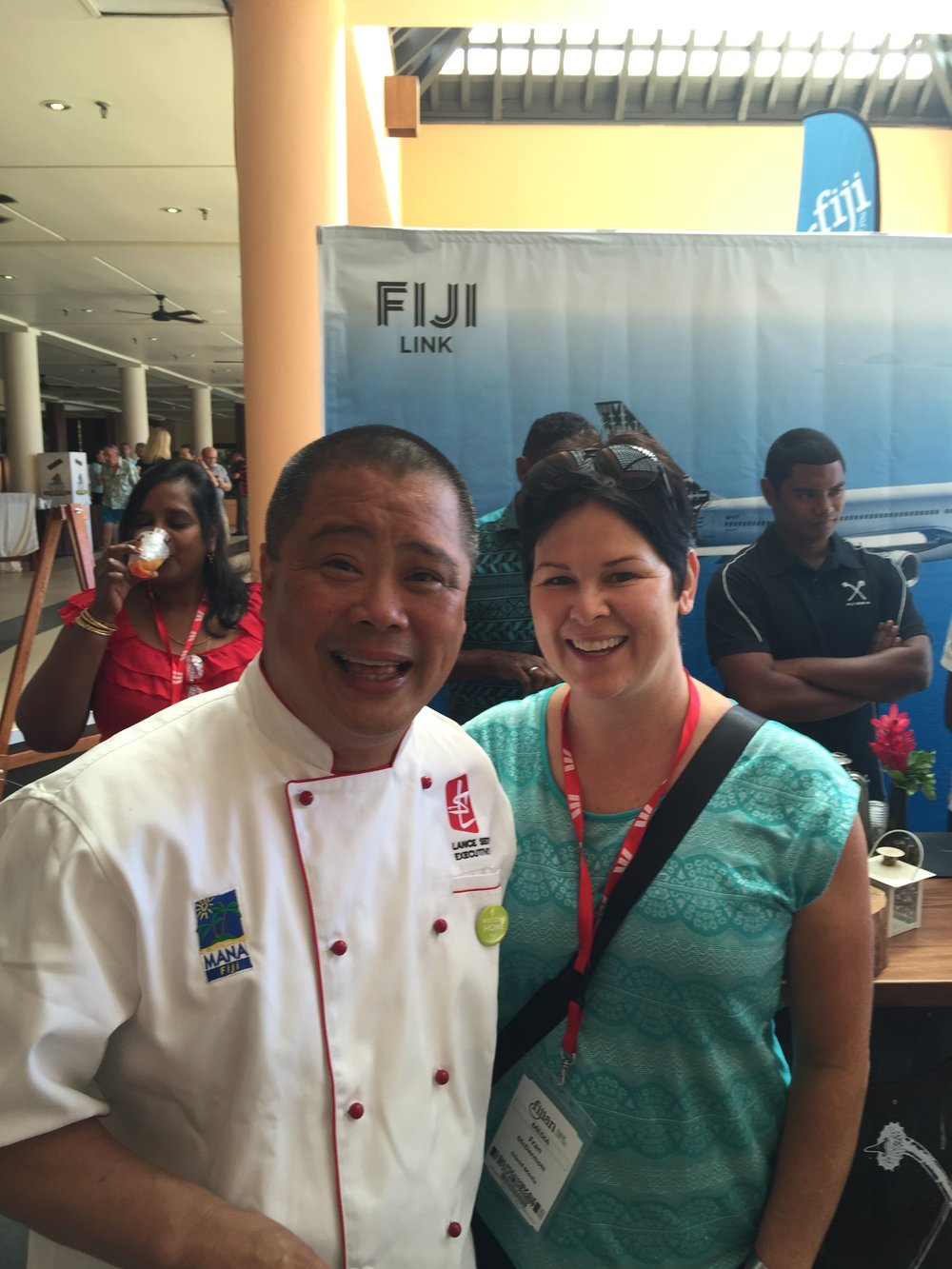 Fijian Tourism Exchange with Chef Lance Seeto