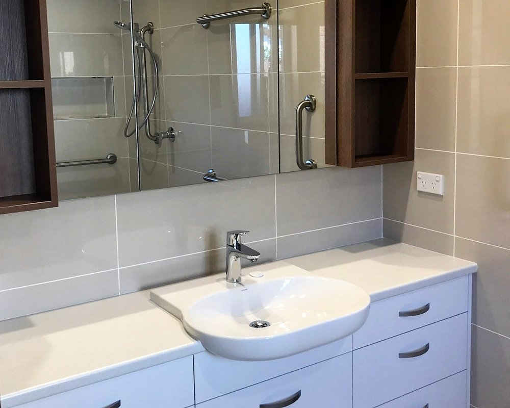 Modifications Easier Living Services - Bathroom modifications for disabled