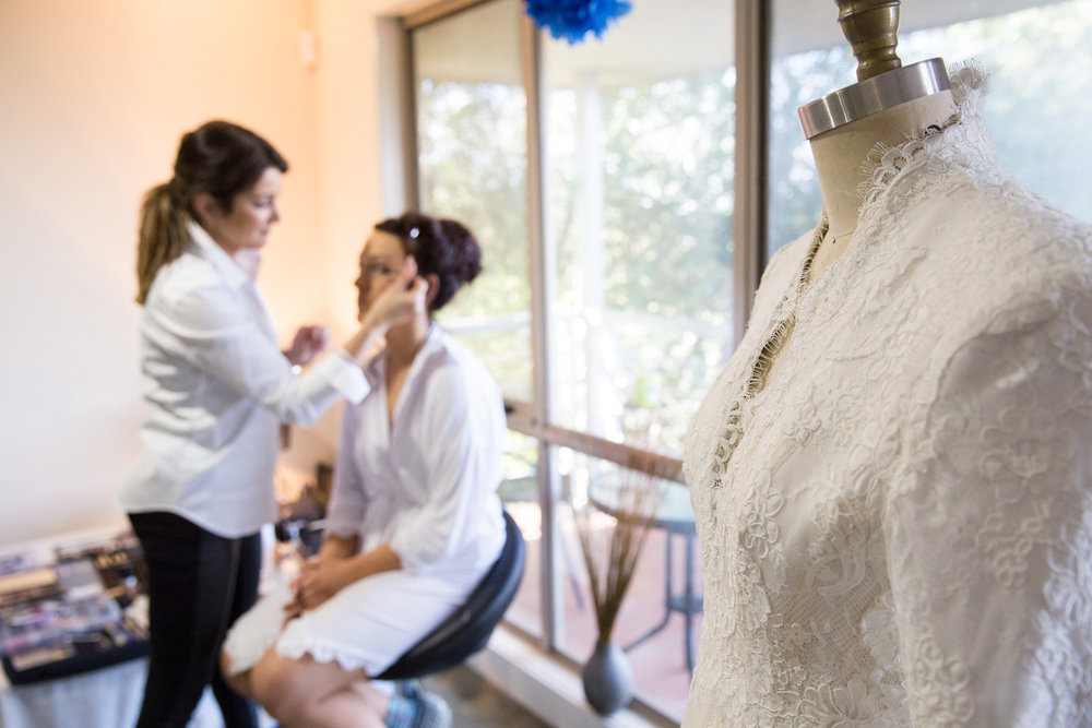 Four Daisies, wedding photographer in Melbourne, getting ready photos