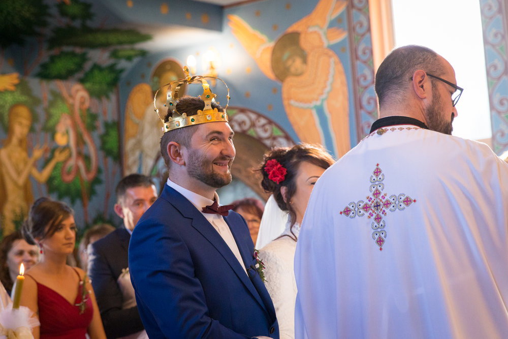 Four Daisies - wedding photography in Melbourne, Yarra Valley, Dandenong Ranges and Mornington Peninsula. Traditional Serbian wedding ceremony.