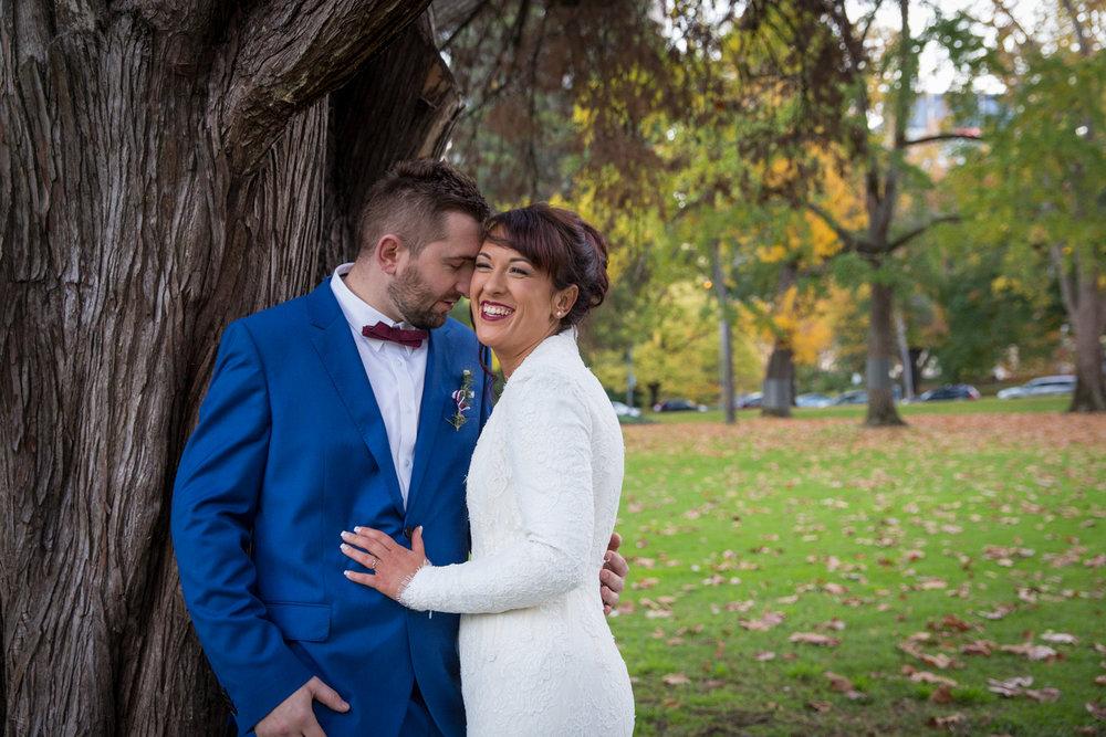 Four Daisies - wedding photography in Melbourne, Yarra Valley, Dandenong Ranges and Mornington Peninsula. Fitzroy Gardens, Melbourne city wedding photography.