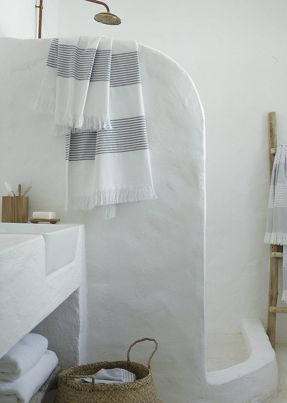 Image:  White Company Almafi Hammam Towels