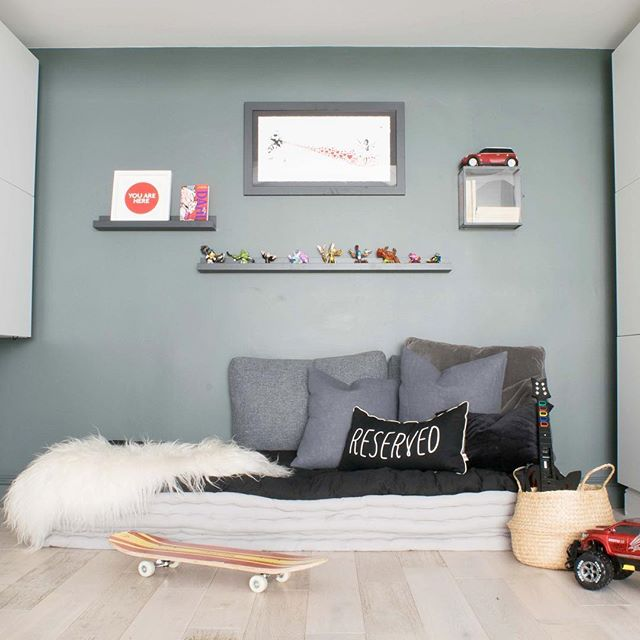Perfect for a Saturday morning and where they all currently are. 😊KIDS ROOM Another fave of the kids is the reading area.  Although a few Skylanders have appeared on the #shelfie I didn't have the heart (yet!) to remove their styling efforts 😂 ❤️ #readingnook #readingarea #gallerywall #gallerywalldecor #kidsinterior #myhousethismonth #kidsroom #kidslounge #gamingroom #playroom #kidsdecor #playroomideas #kidsroominspo #kidsroomdesign #kidsroomdecor #boysroom #mykidsdigs #myhomevibe #myhyggehome #childrensroom #pocketofmyhome  #apartmenttherapy #interiorandhome #sassyhomestyle #styleithappy #nestandthrive #mygorgeousgaff #petitjoys #ownyourdecor