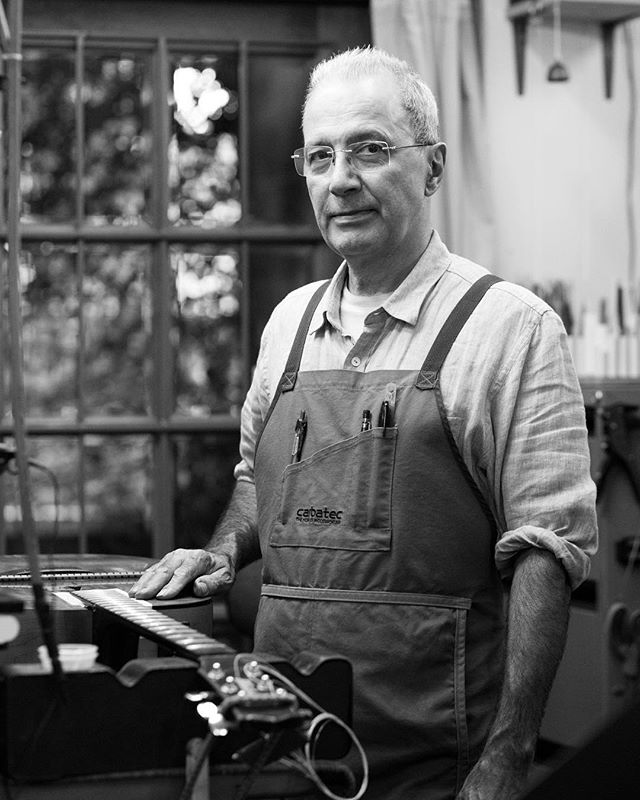 A day in the workshop with master guitar builder and restorer Gabriel Ochoteco. Gabriel moved to Brisbane in the 1980s and has made beautiful instruments from scratch ever since. He also restores and maintains guitars for his loyal customers, who understand the importance of a well crafted instrument.  #ochoteco #guitars #luthier #craft #guitar #instrument #documentary #portrait #photography #blackandwhite #b&w #digital #85mm #35mm #primelens #wood #woodcraft #acoustic #music #classical #concert #adventure #travel #home #workshop #tools #trade #woodwork