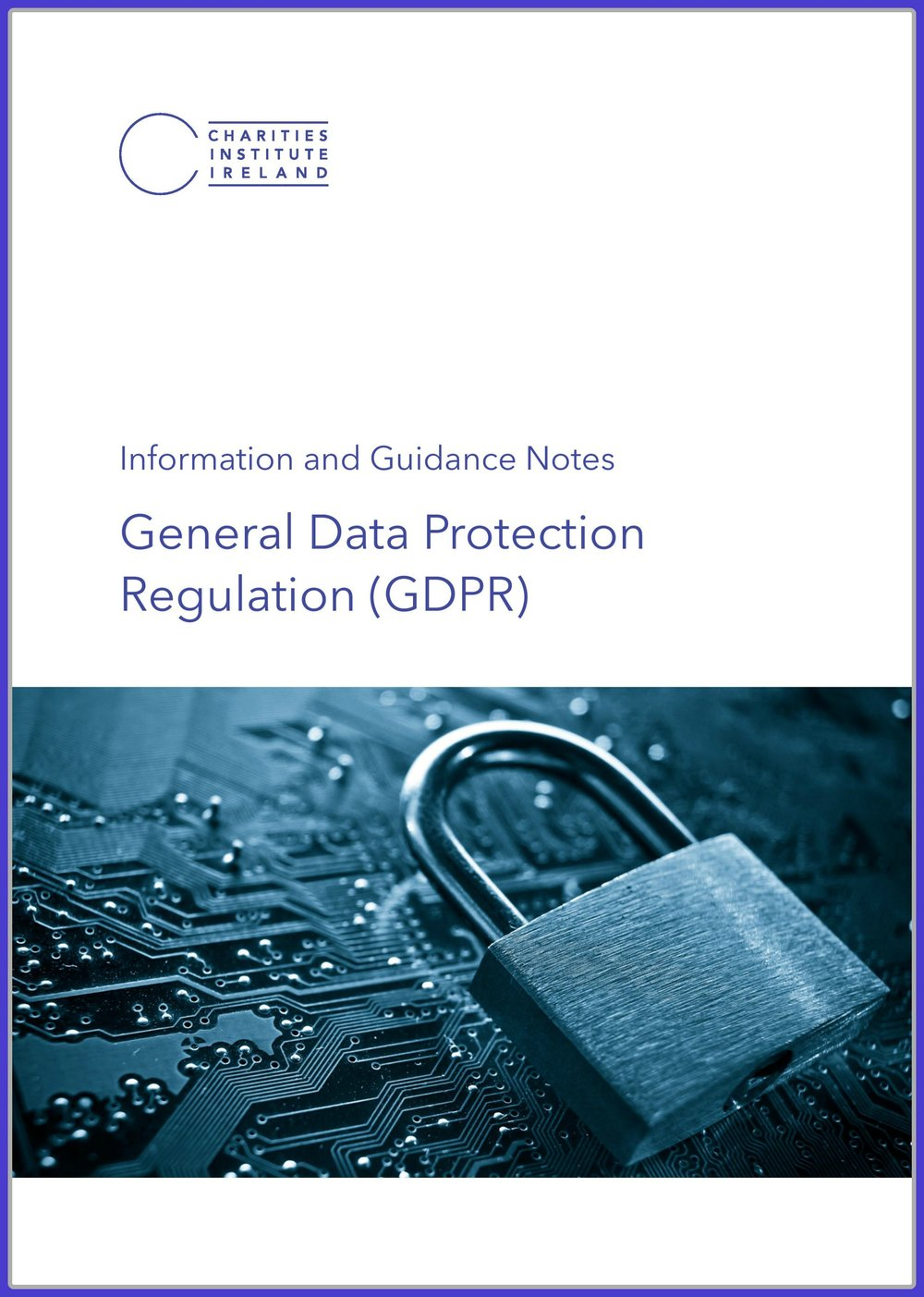 - This document contains an overview of the GDPR regulation outlining the lawful basis of processing, information on the provision of consent, legitimate interest, direct marketing and how charities can insure compliance.